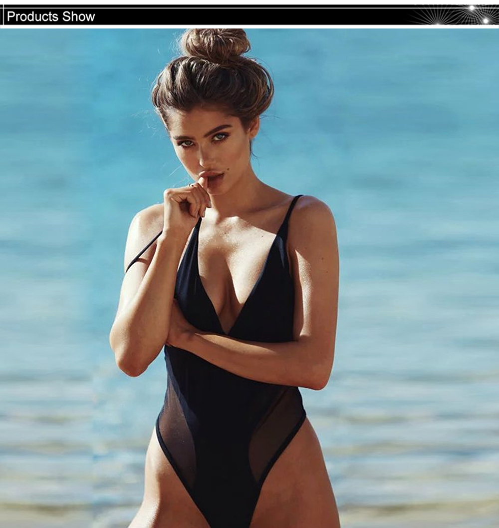Customer feedback for this store 0 past orders · 0 customer ratings. Details   Shipping   FAQs. High Cut One Piece Swimsuit Black Mesh Swimwear Women Push  Up ... 86962627d