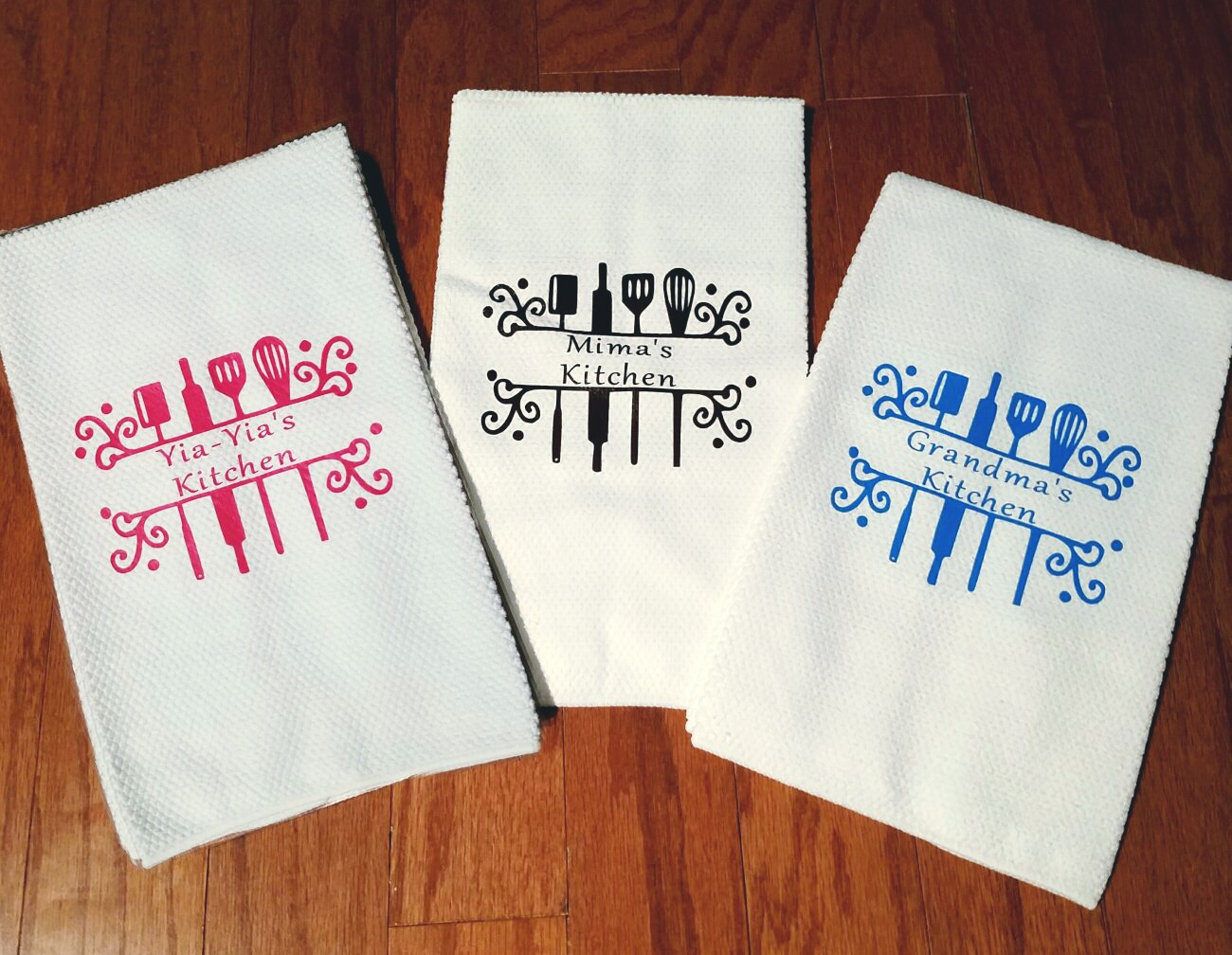 Personalized Kitchen Towels From Danee S Designs
