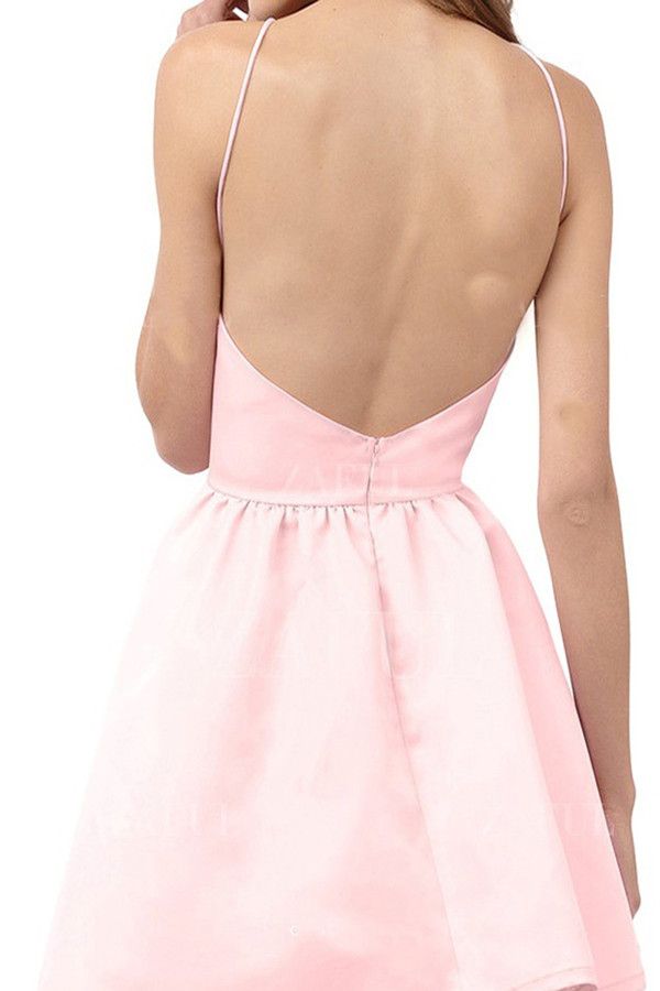 Light Pink Homecoming Dressshort Prom Dressgraduation Party