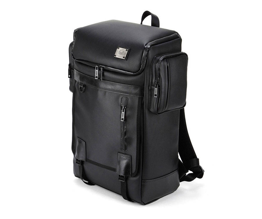 Laptop Backpack College Bag Rucksack Black School Bag Men Backpack ... 6a89098c43
