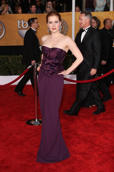 18948fe12bf Amy 20adams 20purple 20strapless 20prom 20dress 202009 20sag 20awards 20red  20carpet original