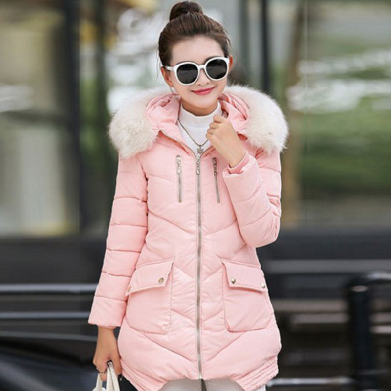 Winter Jacket Women Cotton Padded Parka Long Coats Winter Coat Womens Winter Jackets Manteau Femme Zz3604