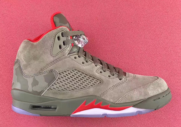 finest selection 4cd5a 63cce Air jordan 5 camo release date 136027 051 02 original