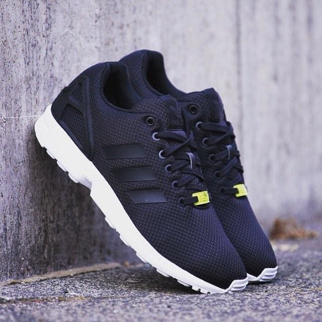 f3c9e543a8e86f ... where to buy fashion adidas originals zx flux womens mens blackwhite  sneaker on storenvy 694c5 4910d