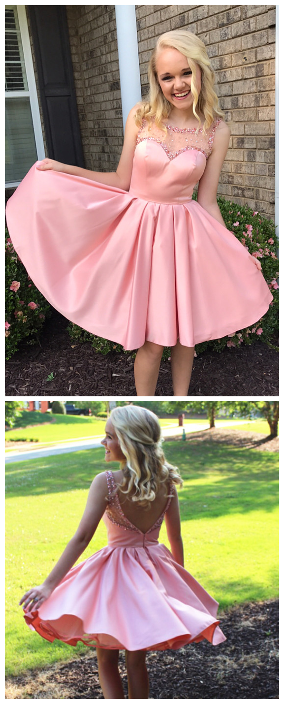 pink_homecoming_dress,short_mini_ball_gowns,swing_party_dress,homecoming_dresses