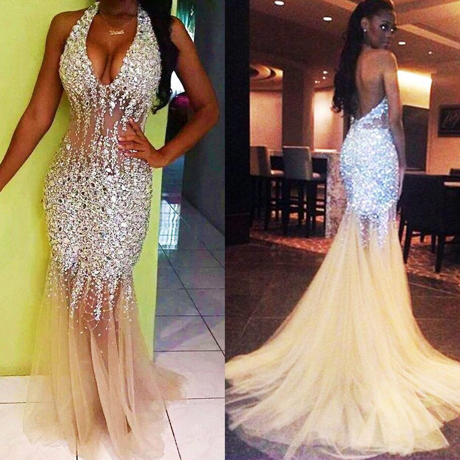 Sexy Mermaid Shinning Prom Dress Prom Dresses Graduation