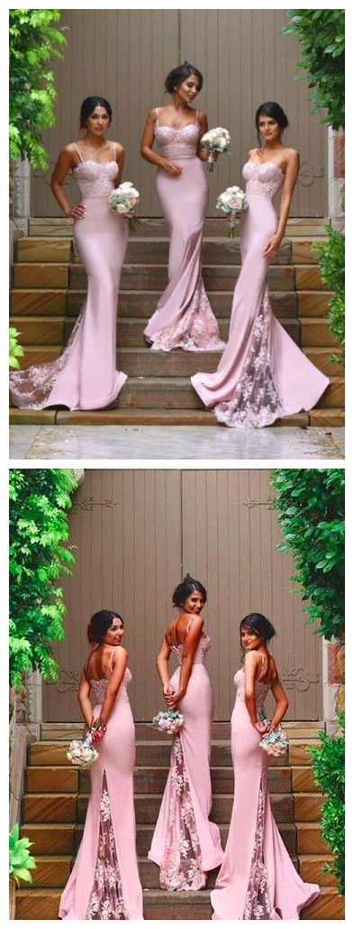 Pink_Mermaid_Bridesmaid_Dresses,Spaghetti_Straps_Lace_Train_Bridesmaid_Dresses,Sexy_Bridesmaid_Dresses,Mermaid_Bridesmaid_Dresses,Long_Bridesmaid_Dres