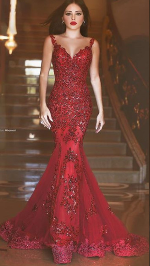 Prom_Dresses_Sexy_Long_Mermaid_Sheer_V_Neck_Cap_Sleeve_Court_Train_Appliques_Formal_Evening_Dress