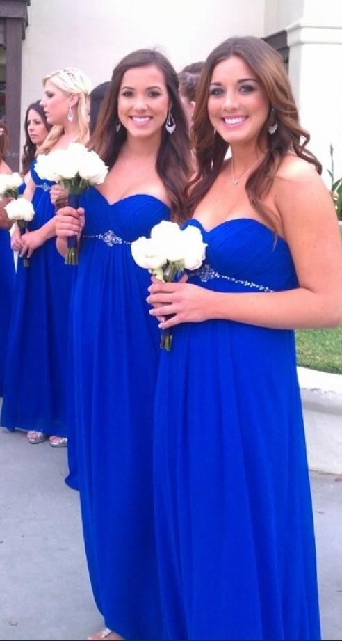 Sweetheart_Bridesmaid_Dresses,Royal_Blue_Bridesmaid_Dresses,Beading_Bridesmaid_Dresses,Long_Bridesmaid_Dresses,High_Low_Bridesmaids_Gowns