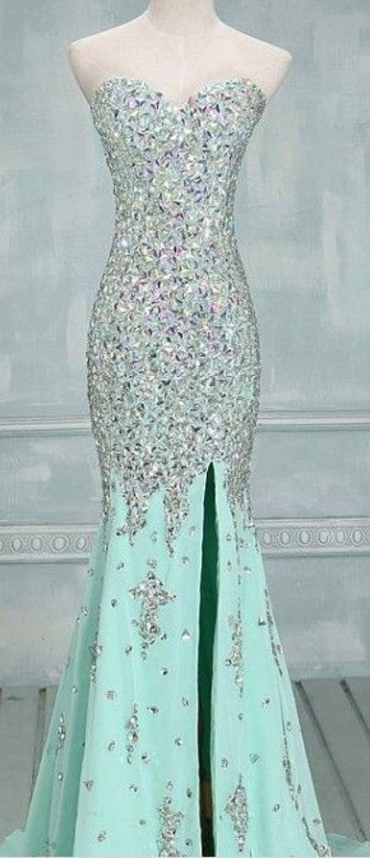 Real_Made_Prom_Dresses,_Floor-Length_Prom_Dresses,_Mint_Green_Prom_Dresses,_Sequin_Shiny_Front_Split_Prom_Dresses,_Charming_Prom_Dresses,_Evening_Dres