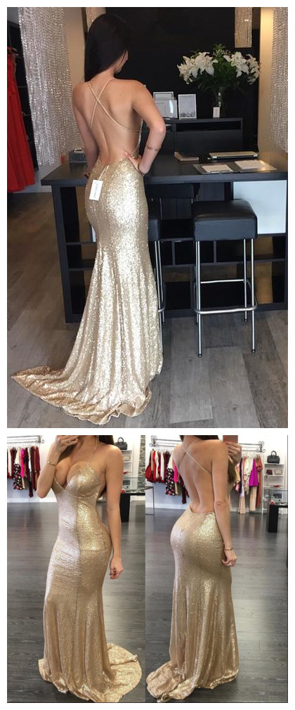Backless_Sequin_Evening_Prom_dress,_Mermaid_Gold_Party_prom_dress,_Long_prom_dress,_prom_dress,_Custom_prom_dresses