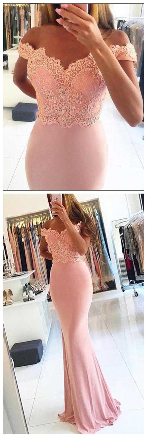 off_shoulder_mermaid_prom_Dresses,_Sexy_Mermaid_prom_dresses,_Blush_pink_prom_dresses,_long_prom_dresses,_prom_dresses