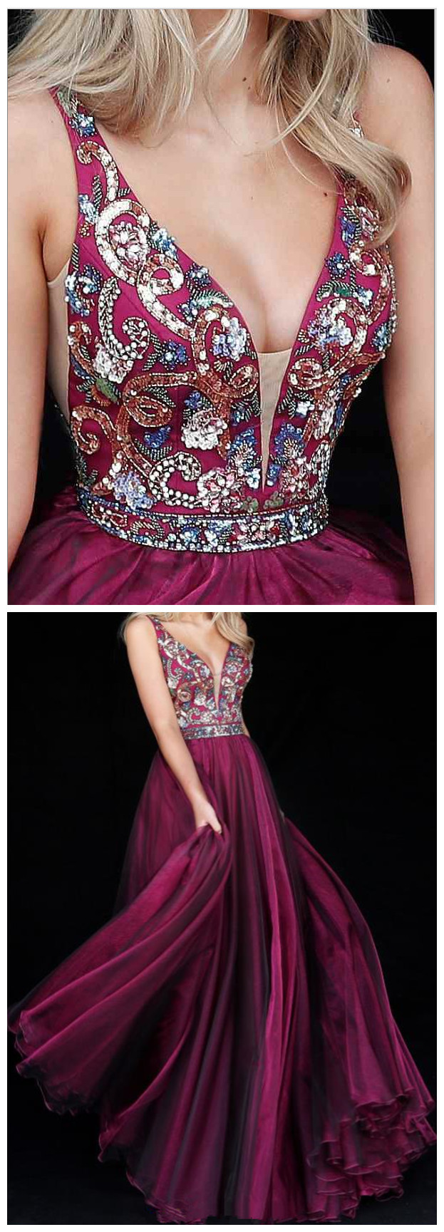 NEW_Sexy_backless_prom_dress,_Burgundy_prom_dress,_Beading_V_neckline_prom_dress,_prom_dress,_Sexy_prom_dress,_backless_prom_dress