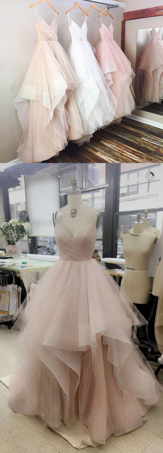 A_Line_Tulle_Evening_Prom_dresses,_Custom_Long_Party_Prom_Dresses,_Simple_prom_dresses,Prom_Dresses