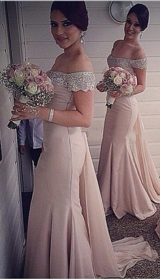 Cap_Sleeves_Cheap_Bridesmaid_Dresses_Under_50_Mermaid_Satin_Beaded_Crystals_Sexy_Coral_Long_Wedding_Party_Dresses