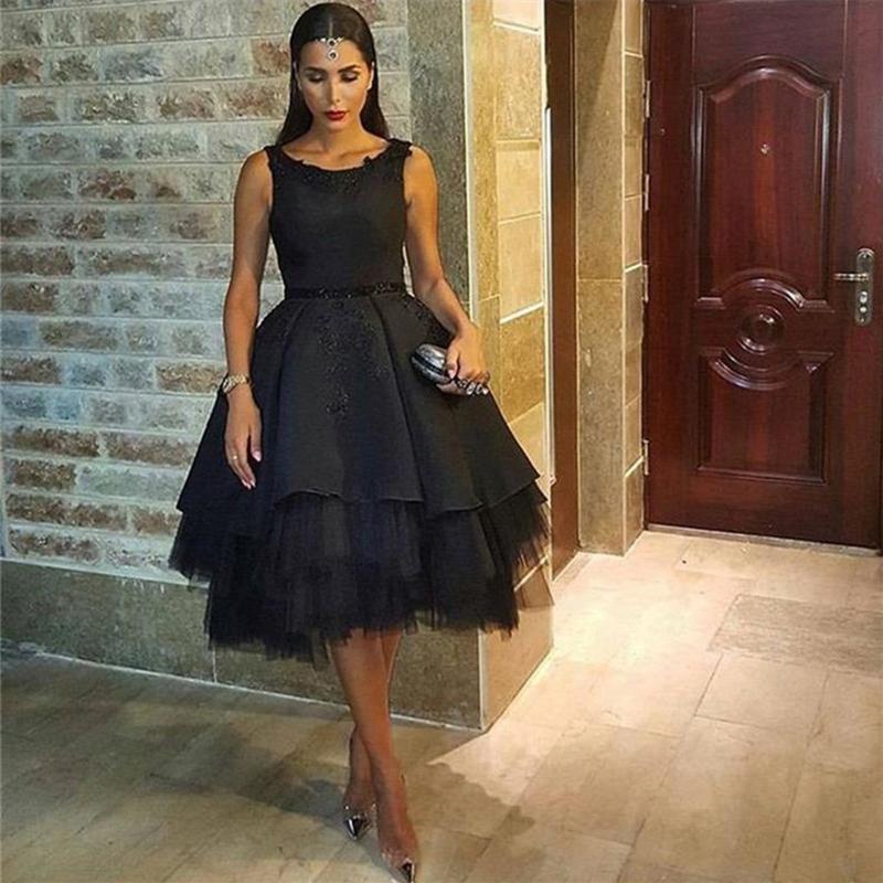 b1fb3b565f1 Black Ball Gown Homecoming Dresses