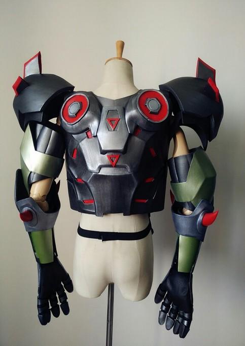 Overwatch Genji Skin Oni Cosplay Armor Costume For Sale On