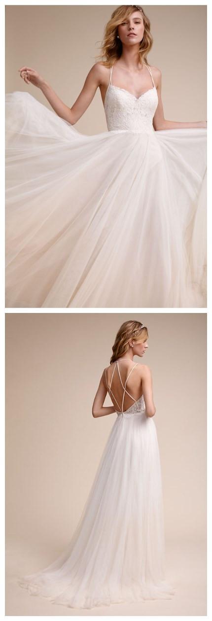 Sexy_A_Line_Wedding_Dress_Lace_Vestido_De_Noiva_Beaded_Appliques_Tulle_Court_Train