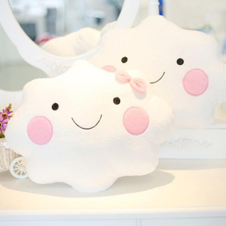 Sale Cute Smiley Face Cloud Pillow On Storenvy
