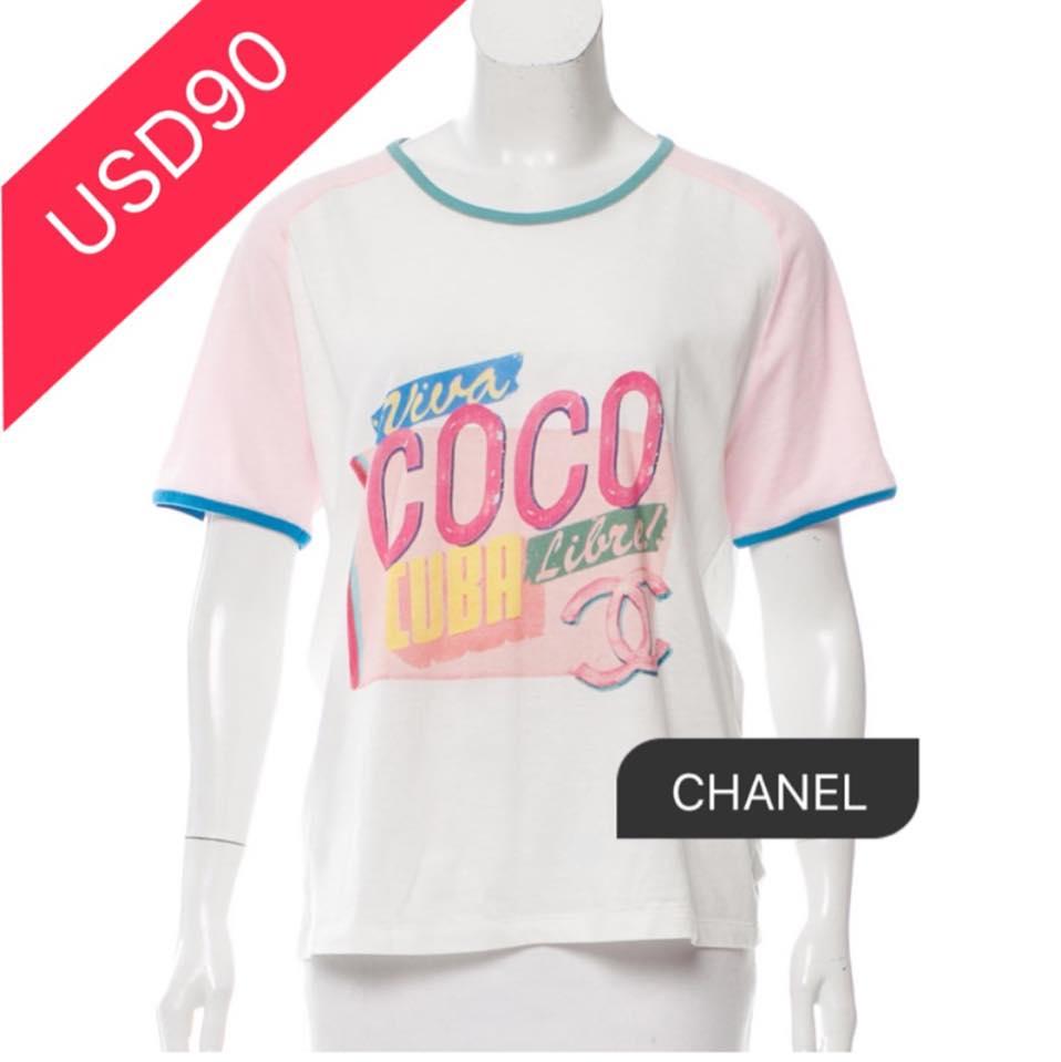0741cfc9781 gucci gg lv chanel coco tee tops shirt shirts coco print on Storenvy