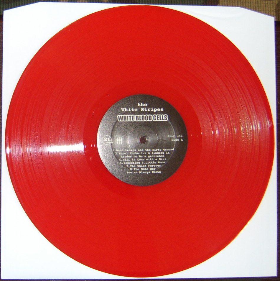 White Stripes White Blood Cells Vinyl Lp On Storenvy