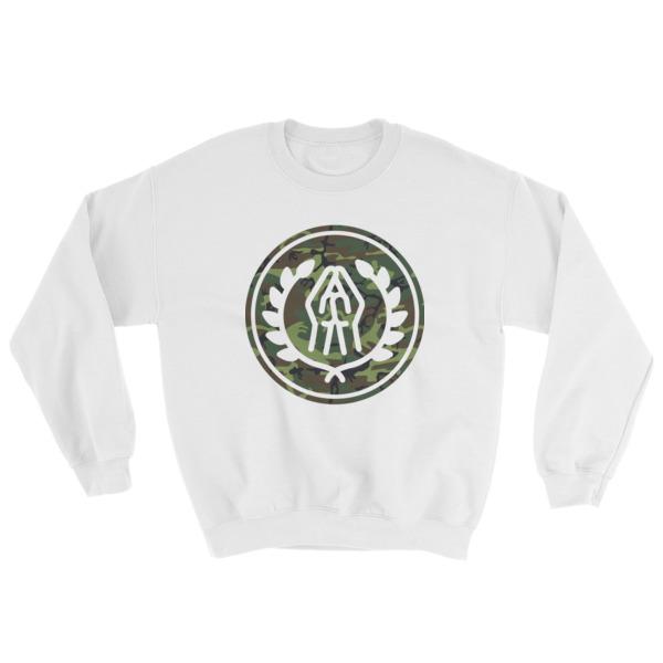 Prayer Emblem (camo) Mens Sweatshirt