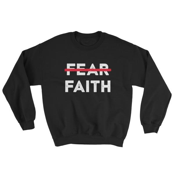 Fear X Faith Mens Sweatshirt