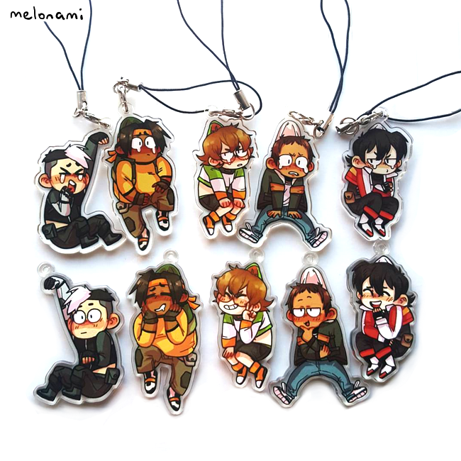 Image of Voltron Charms