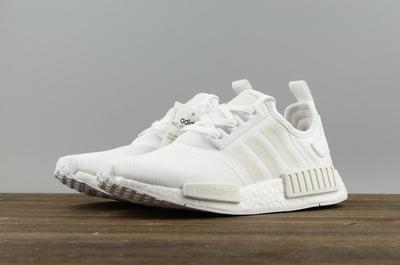 a0872d42da38 Adidas NMD R1 Boost All white runner shoes · superstar · Online ...