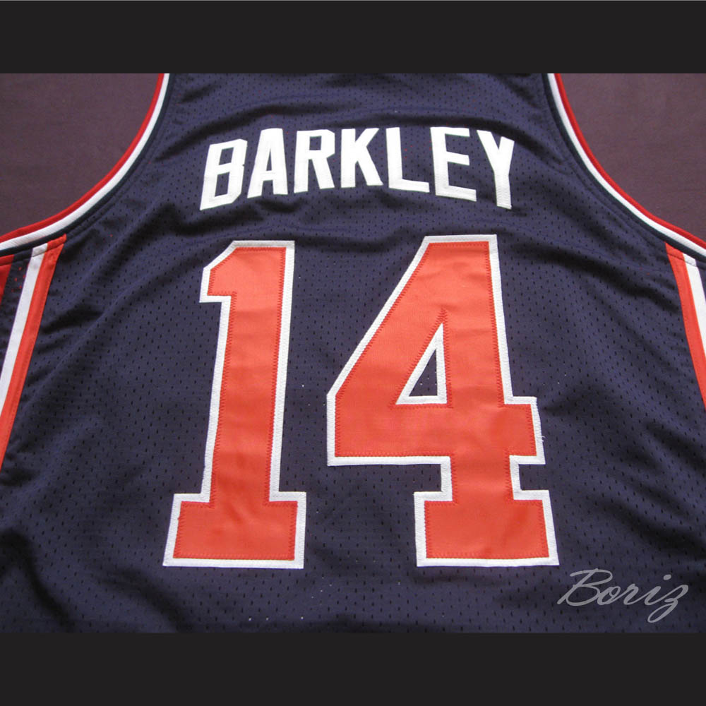 8e83eee7a16 ... Charles Barkley Dream Team 1992 Retro Jersey USA 14 All Sizes -  Thumbnail 4