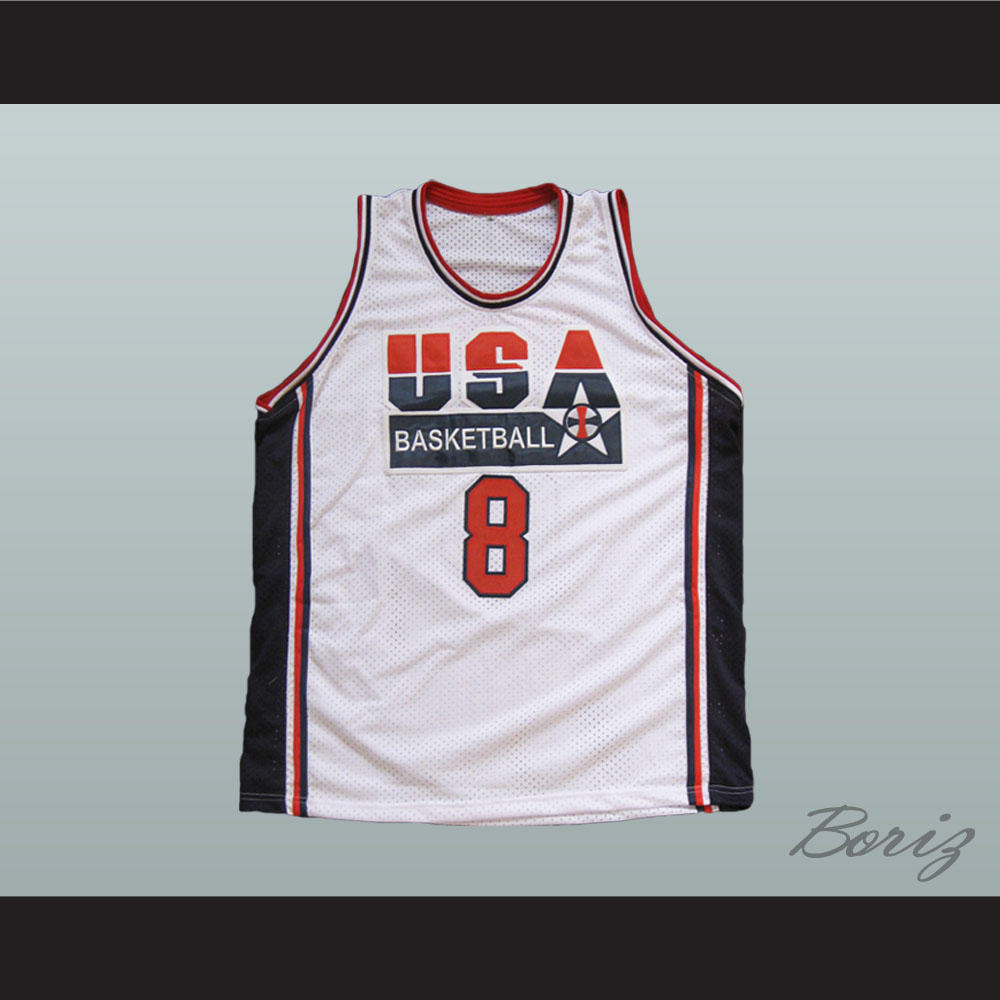 379cf49a9 Scottie Pippen Dream Team 1992 Retro Jersey USA 8 All Sizes ...