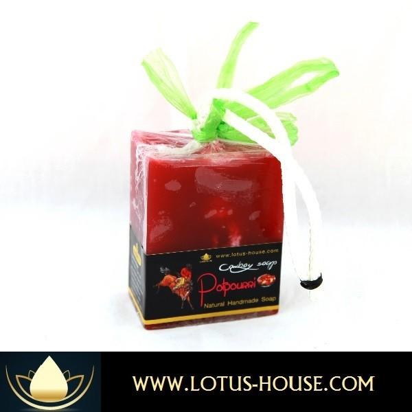 Lotus House Potpourri Cowboy Soap 300g Bar