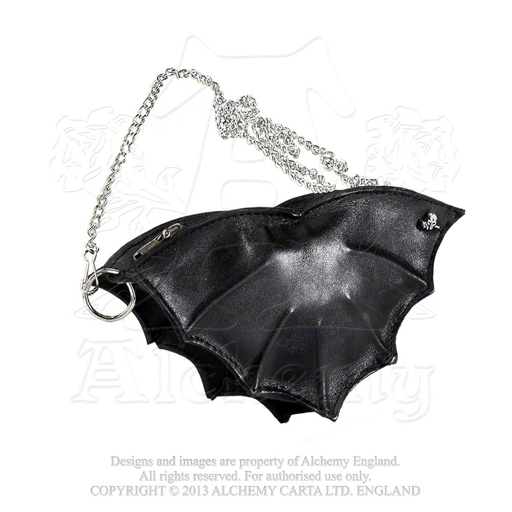 Bat leather change purse (66458906 NNC100053LG46) photo