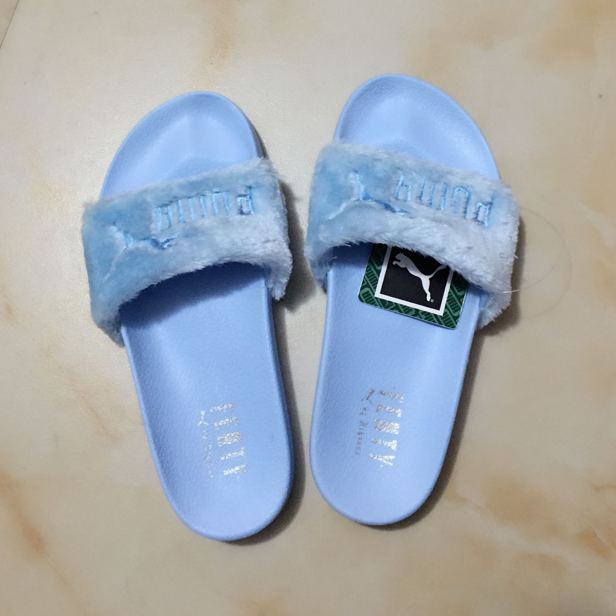 100% Real Rihanna Womens Rihanna Slipper Shoes Us6-9