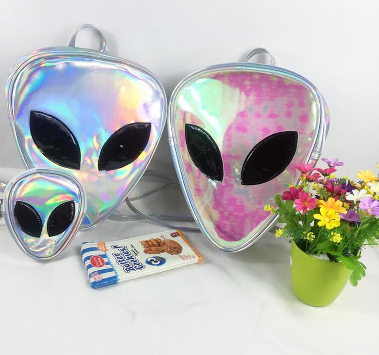 Alien Hologram Backpack & Purse (66590309 Tony Moly Store) photo