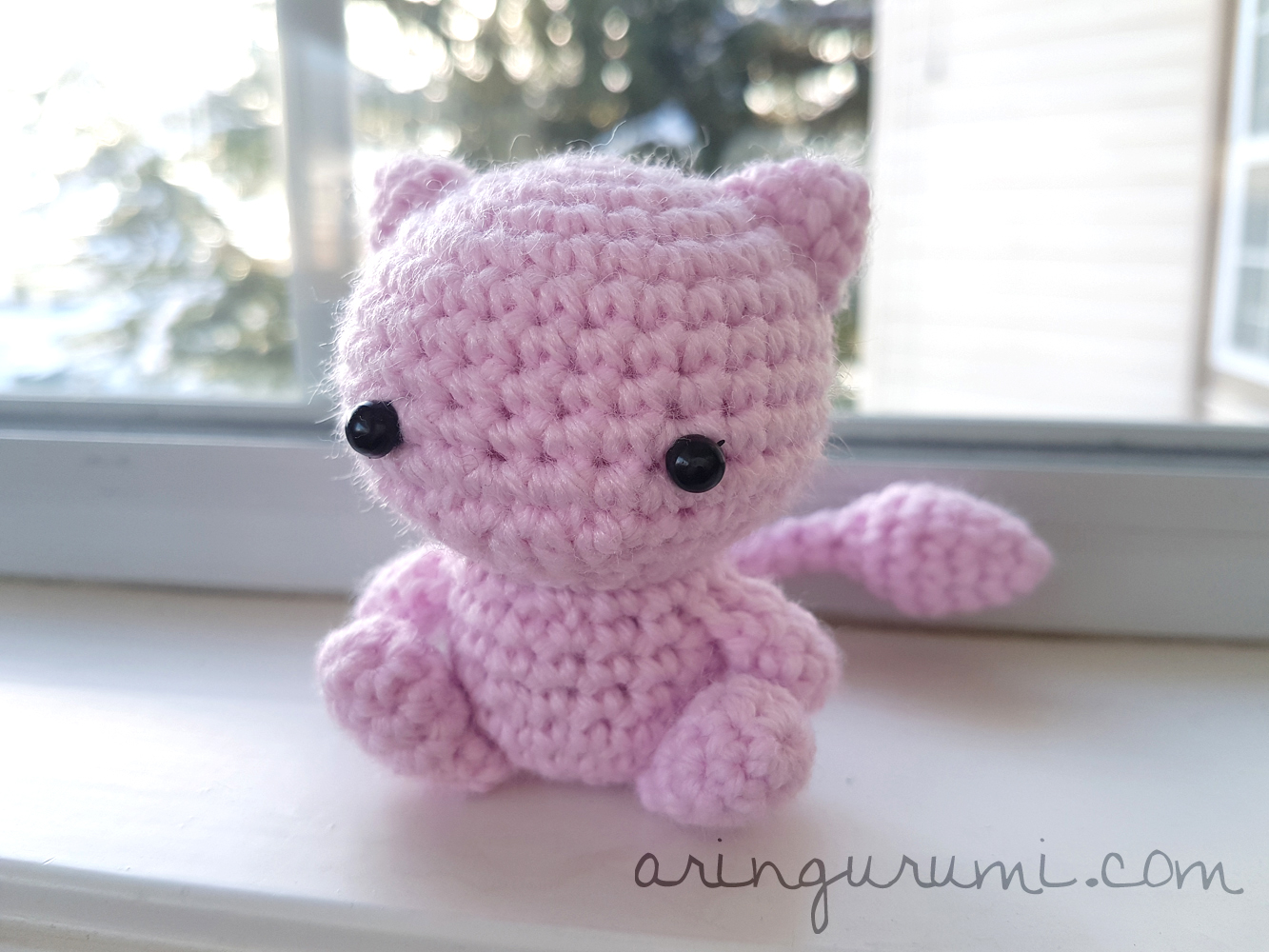 Mew Amigurumi Crochet Plush Pokemon Plushie On Storenvy