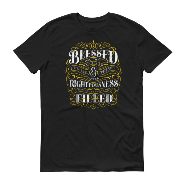 Blessed & Righteous Mens Tee