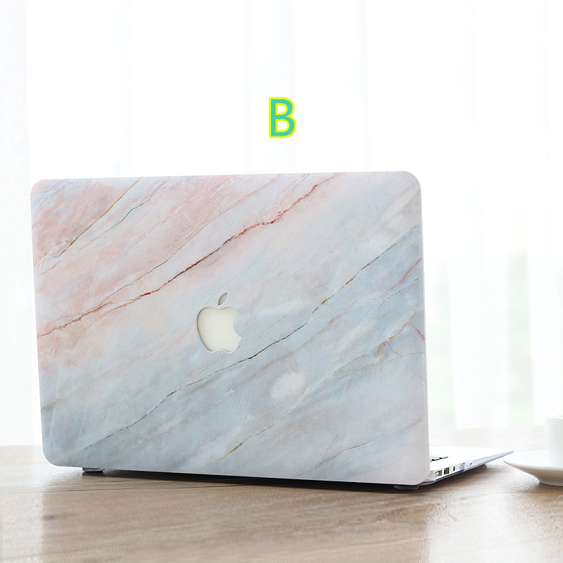 wholesale dealer f688c 33499 Marble Pattern Cover Case For Macbook Air 11 13 Pro 13 15 Touch 12 MB1206