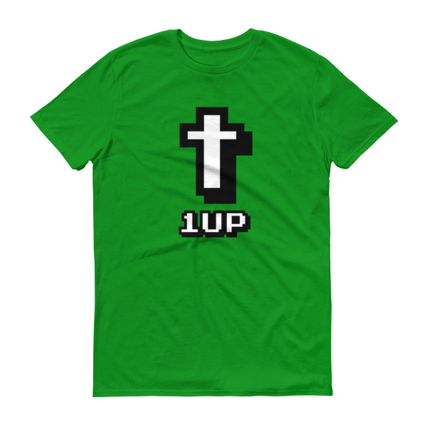 1up Cross Mens Tee