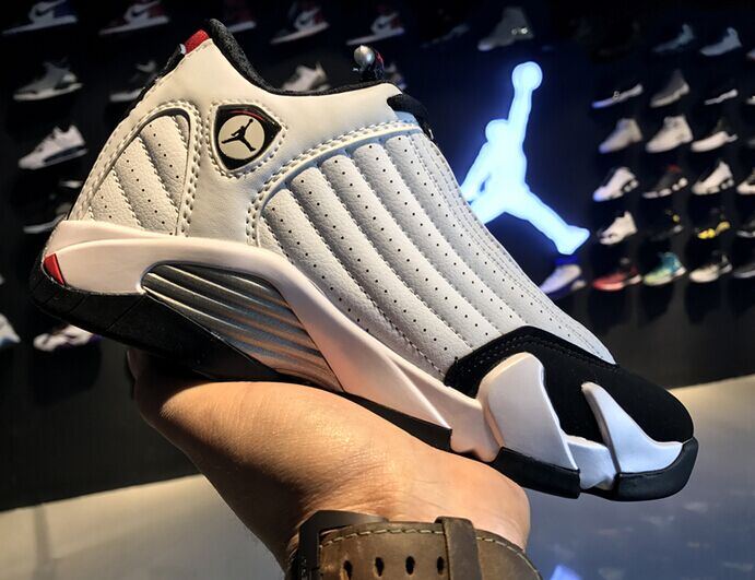 777b36574aae85 Nike Air Jordan 14 XIV Retro Black Toe White Black 487471-102 on Storenvy