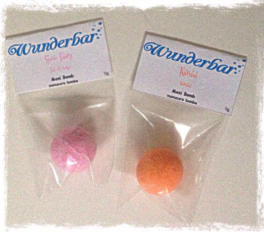 Mani Bombs; Various Scents