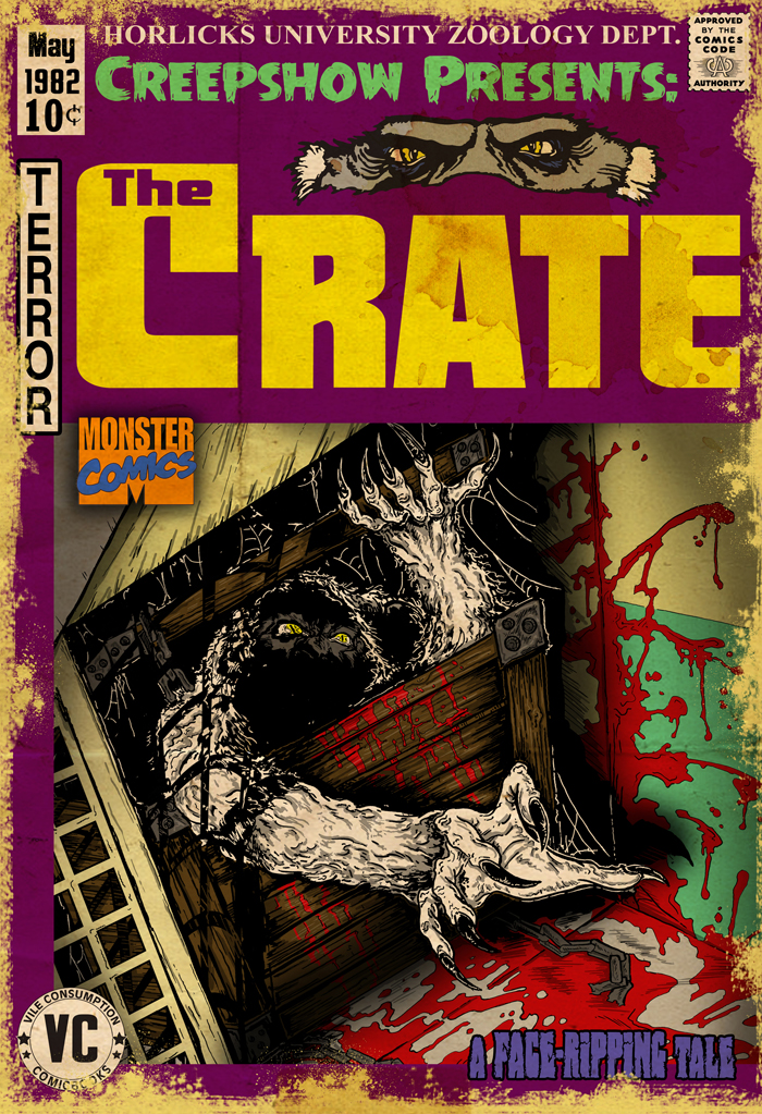 Whats Lurks In The Crate A Creepshow Presentation 183 Vile