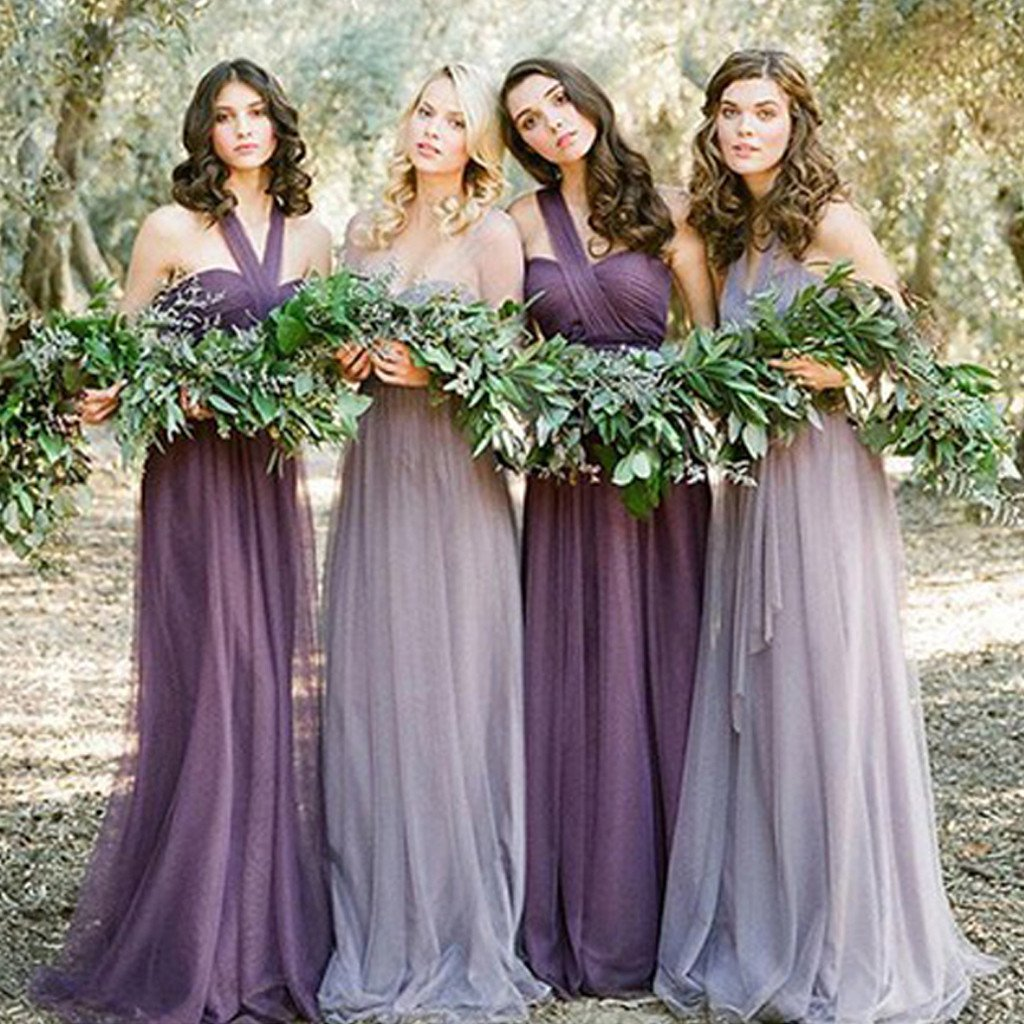 P354 Tulle Convertible bridesmaid dresses, long bridesmaid dresses,  bridesmaid dresses, custom bridesmaid dress, custom bridesmaid dresses