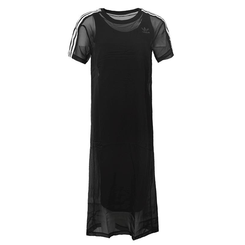 A Womens Xs-xl Sport Running Summer T-shirt Dress