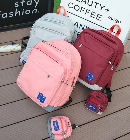 Layered School Backpack With Purse (67469885 storecosply) photo