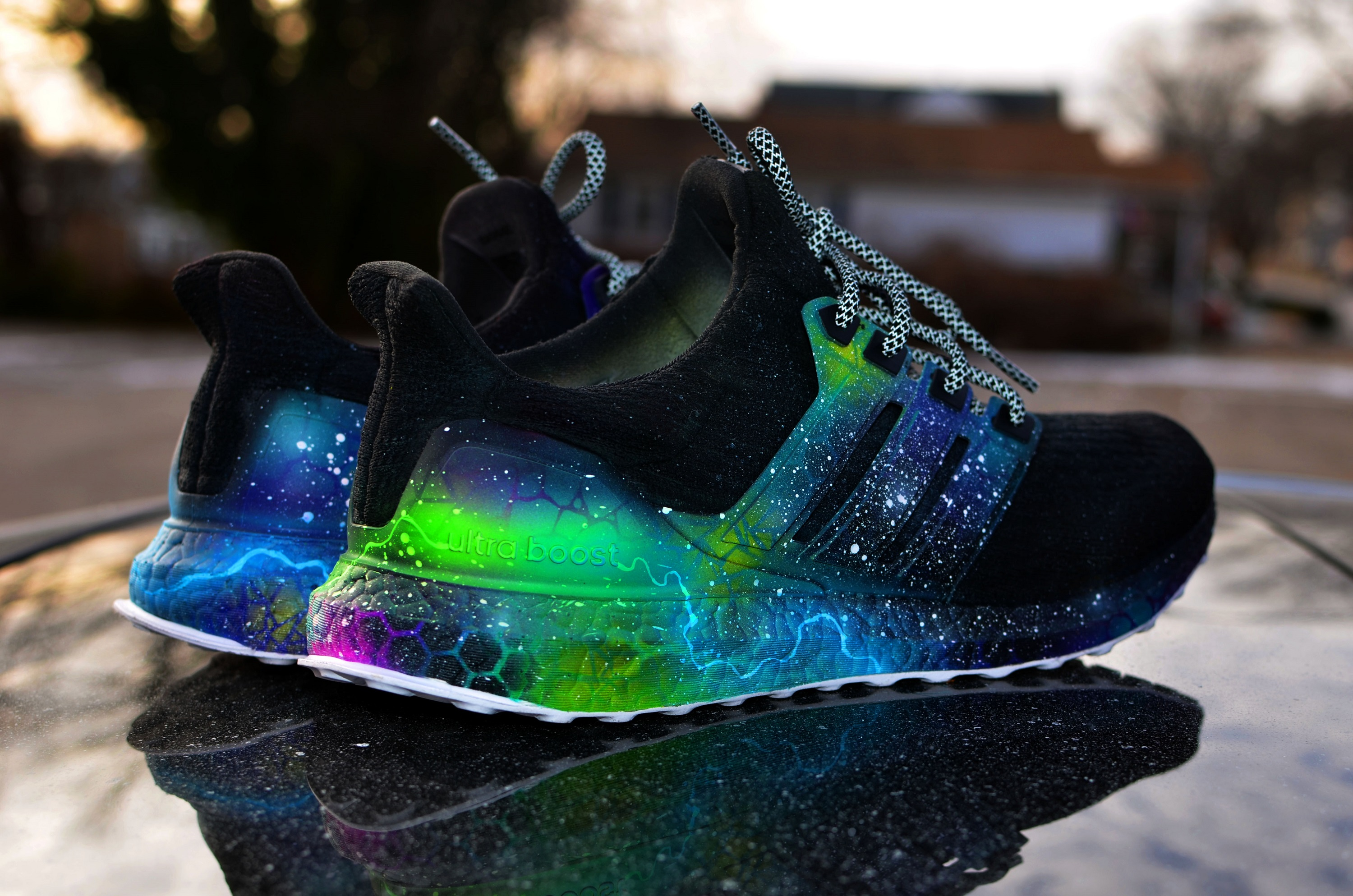 on sale 94f24 37205 Adidas Ultra Boost v3 - Galaxy sold by Drip Kingz
