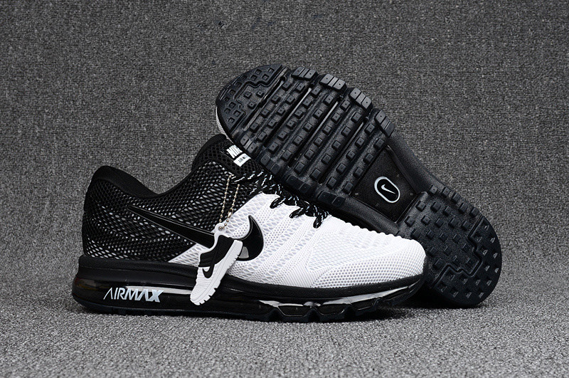 Hot Black White Sneakers Nike Air Max 2017 For Mens