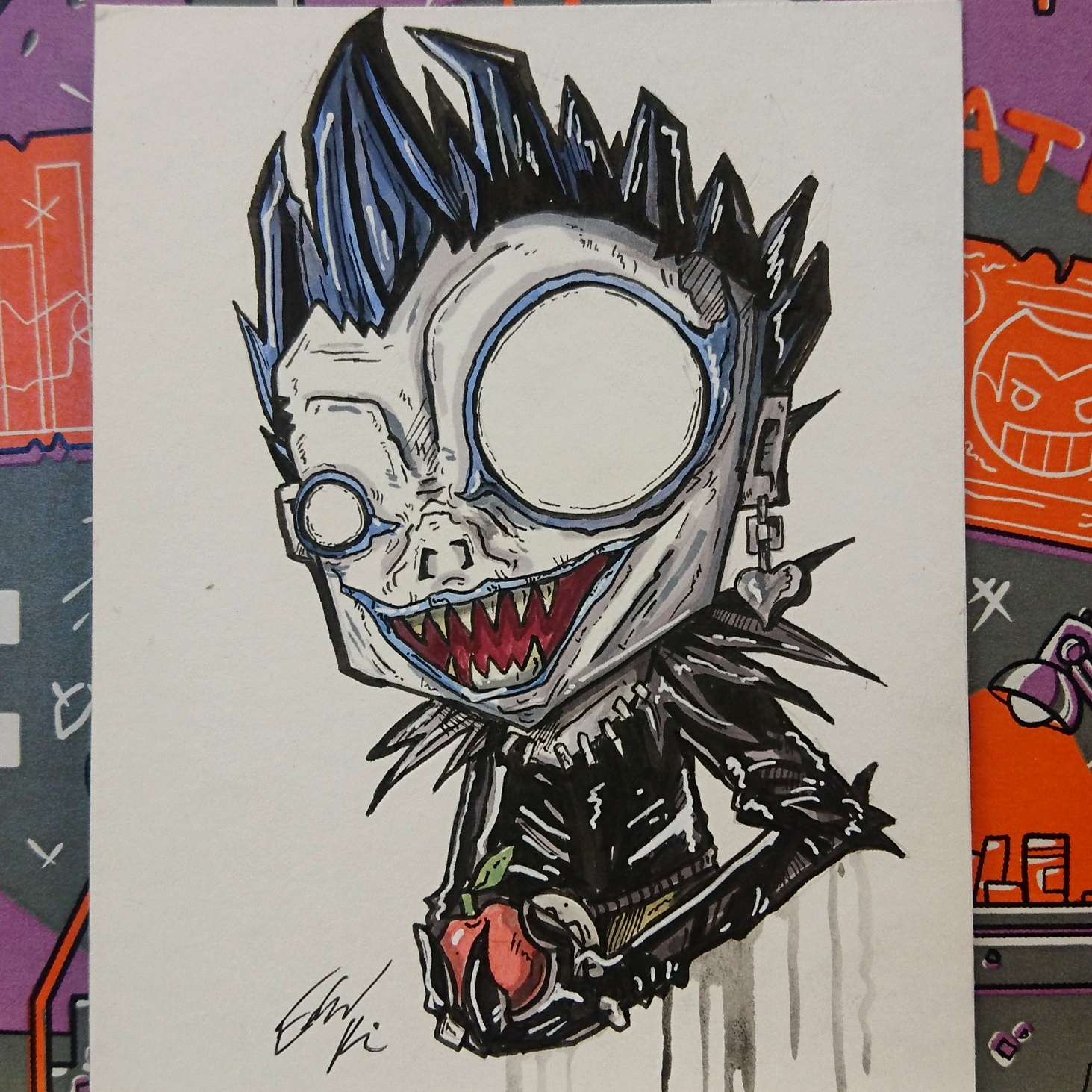 bed6717f1a1 Ryuk ( Death Note) · Taco Boy Designs · Online Store Powered by Storenvy