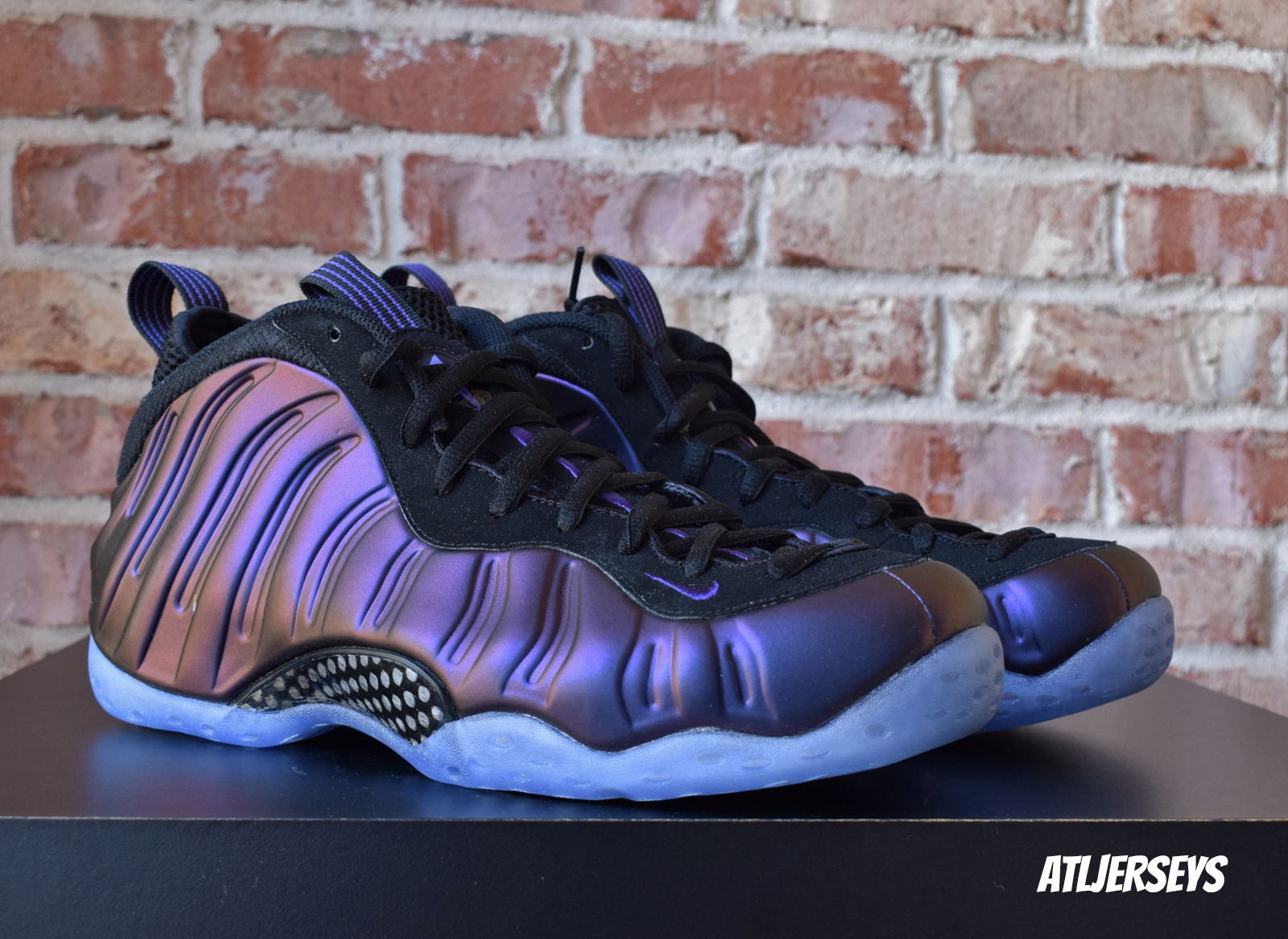 2017 Nike Air Foamposite One Eggplant Og Black Varsity Purple 314996-008