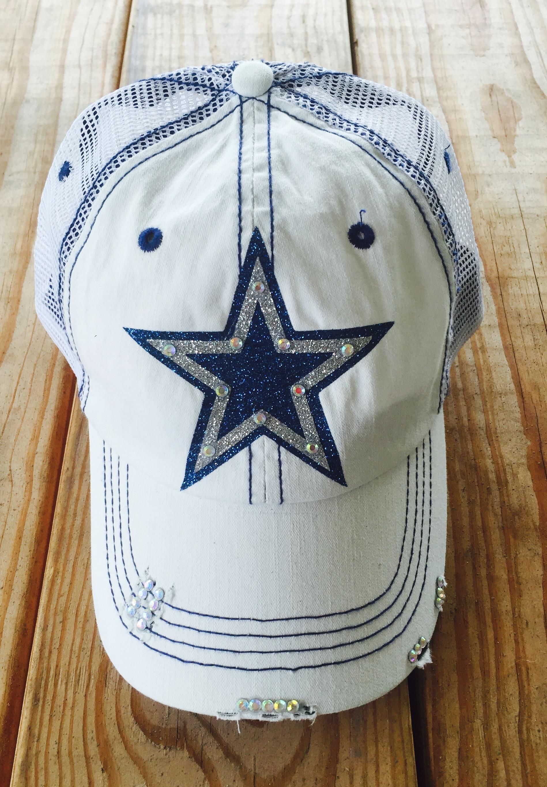 dallas cowboys womens cap